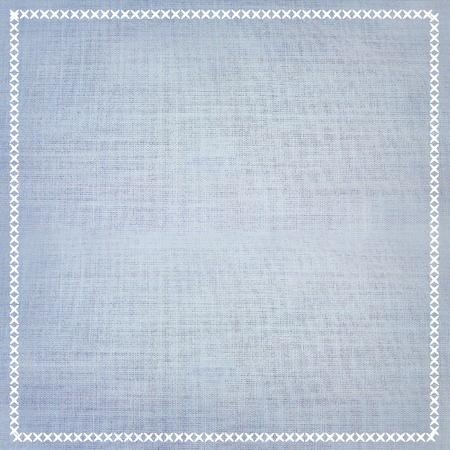 color� texture de fond de tissu avec bordure � coudre.