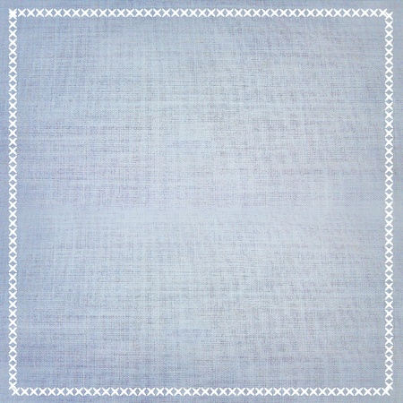 colorful fabric background texture with sewing border.
