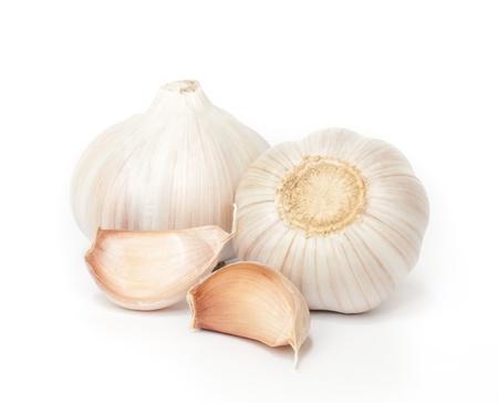 Garlic is Spices in  food  ingredients   An alternative Medicine that helps reduce heart disease