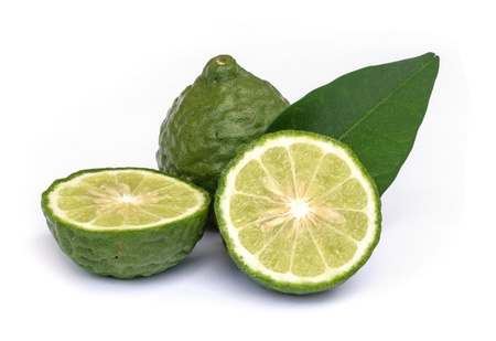 Kaffir lime oil  to be a common ingredient in shampoo. photo