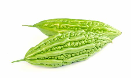 vine pear: balsam apple Stock Photo