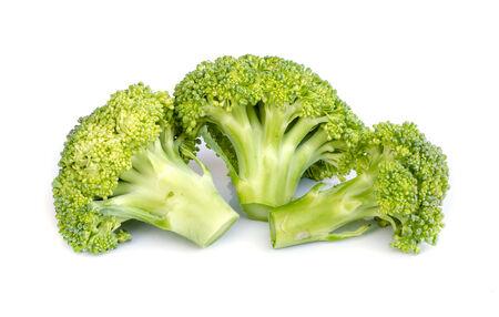 brocoli: Broccoli isolated on white background .