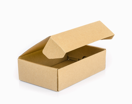 cardboard box: cardboard  box  isolated on a white background.