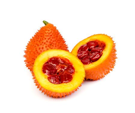 Gac fruit , Typical of orange-colored plant foods in Asia, gac fruit contains carotenoids such as beta-carotene .