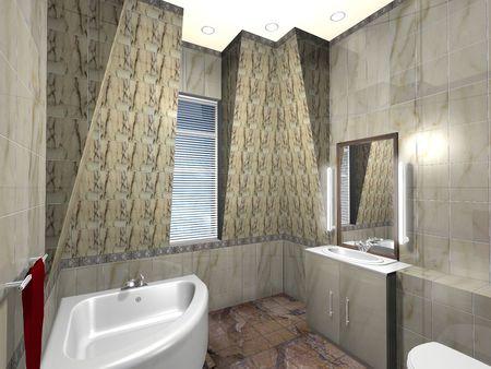 modern bathroom Stock Photo - 5926071