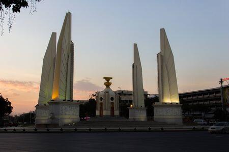 democracy Monument: Landmark Democracy Monument In Bangkok Thailand.