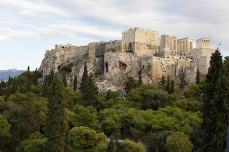View at The Acropolis of Athens