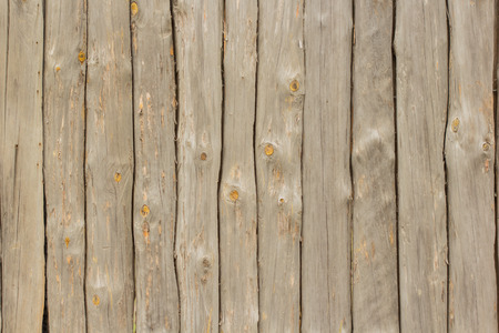 Wall maden of logs as a texture or background Stok Fotoğraf - 95322398