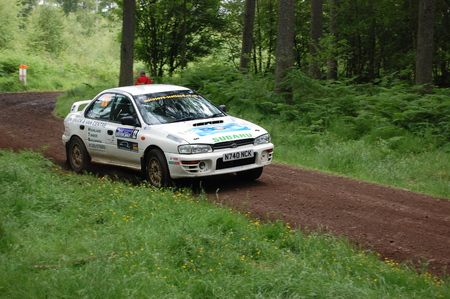 RSAC Subaru Rally Car