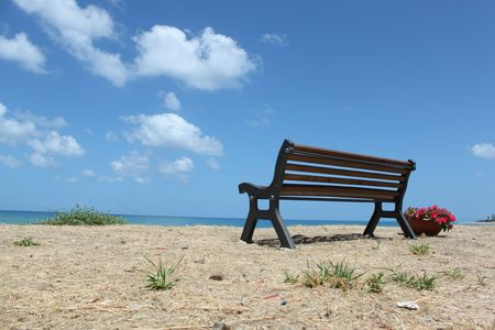 Seat of the sea, coast in the beach with views of the landscape, Sicily Italy photo