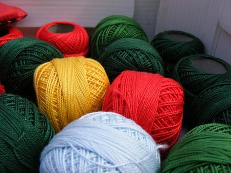 haberdashery: Fabric accessories for retail haberdashery,balls of wool