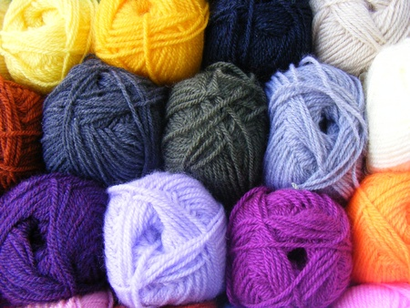 trinket: Fabric accessories for retail haberdashery,balls of wool