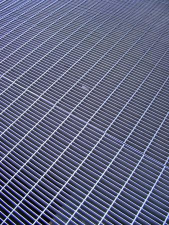 Iron gridiron street floor Stock Photo - 12676568
