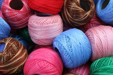 balls of wool  photo