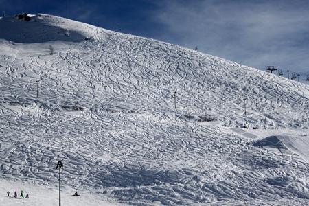 winter skiing holiday at Alps Stock Photo - 13241273