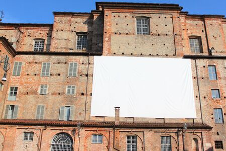 Urban building in turin italy with landscape in the city  photo