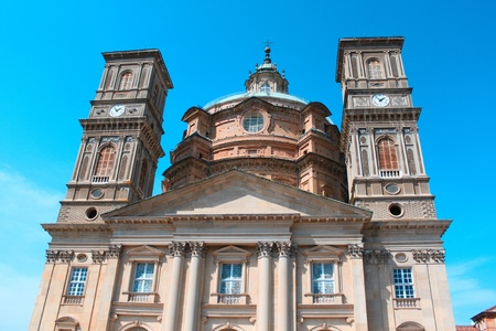 View of the catholic church in Italy photo