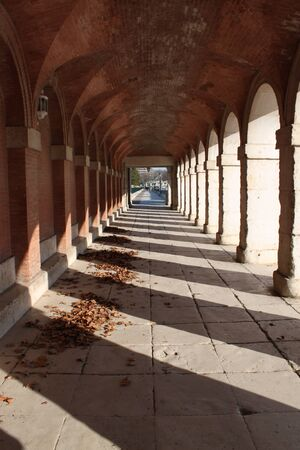 porches: arcades arches architecture Spanish royal