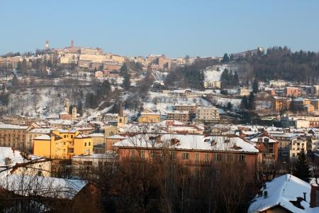 snowy Piedmont city photo