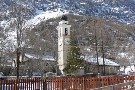 mountain village mountains in Piedmont photo