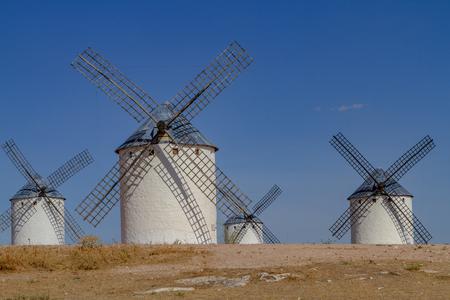 Set of windmills of La Mancha