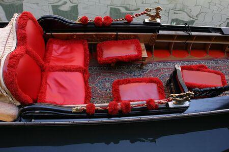 Dettaglio di una gondola Veneziana
