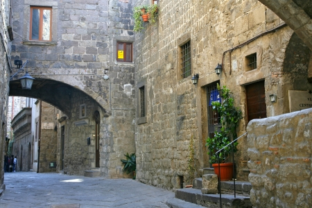 viterbo: San Pellegrino - Medieval district - Viterbo - Italy