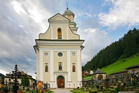 Church and cemetery of the Sesto Stock Photo - 16487853