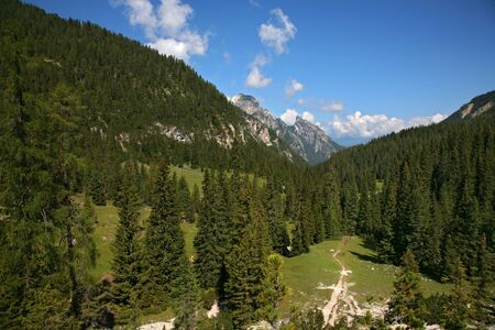 View of Sexten, Dolomite - Italy Stock Photo - 16487762