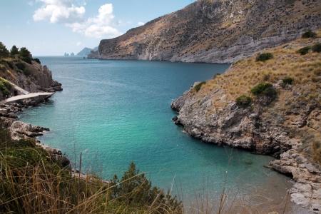 di: Bay di Ieranto, between Naples