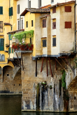 Anciant bridge Ponte Vecchio in Florence  Italy  photo