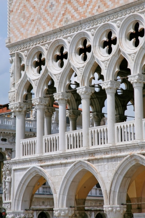 Palace Ducal - detail 2, Venice Italy photo