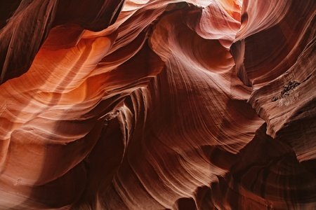 slot canyons: Colorful Patterns of Navajo Sandstone from Slot Canyons Page Arizona