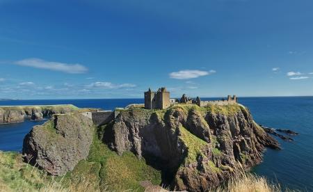 castle rock: Dunnottar Castle, Scotland, Europe