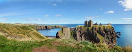 castello medievale: Castello di Dunnottar, Scozia, Europa Archivio Fotografico