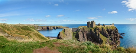 ダノター城, スコットランド, ヨーロッパ