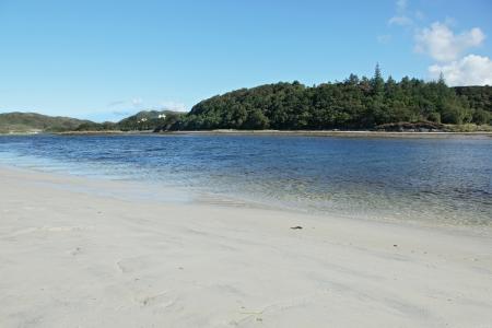 Loch Morar, in the northwest highlands of Scotland Stock Photo - 23459532
