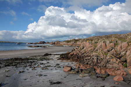 mull: Beach at Fionnphort, Isle of Mull, Scotland, UK