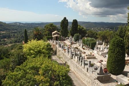 chagall: St. Paul de Vence cemetery, France