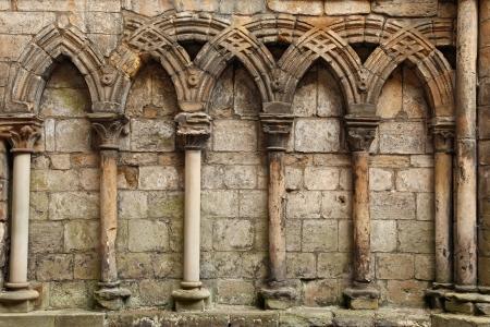 abbey ruins abbey: Ruins of Holyrood Abbey, Edinburgh