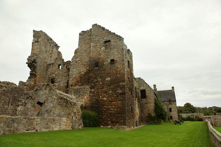 dilapidation: Aberdour Castle and Gardens, Fife