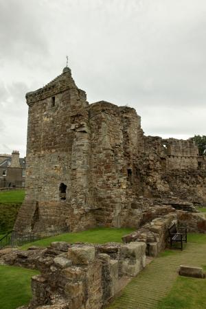 St Andrews Castle Ruins Medieval Landmark  Fife, Scotland