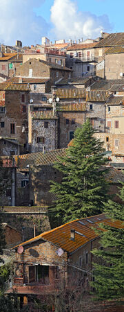 Landscape of Sutri  Lazio  Italy photo