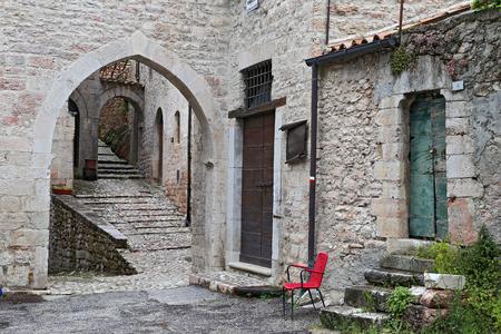 glimpse: Glimpse of Visso, beautiful village in the Province of Macerata - Italy