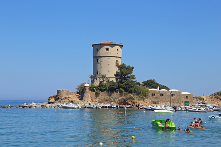 medici: Torre del Campese, Giglio Island, Tuscany, Italy