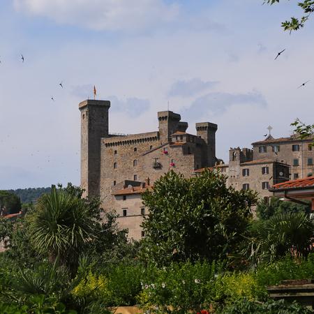 viterbo: Bolsena, Viterbo, Lazio, Italy: the medieval castle