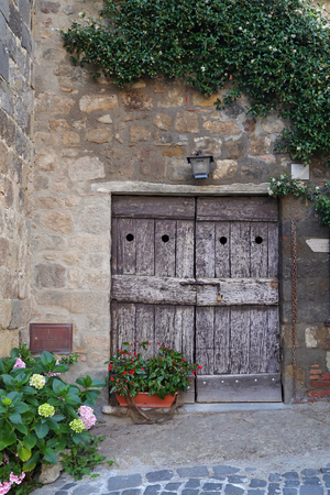 viterbo: Bolsena, Viterbo, Lazio, Italy: old typical street of the medieval town