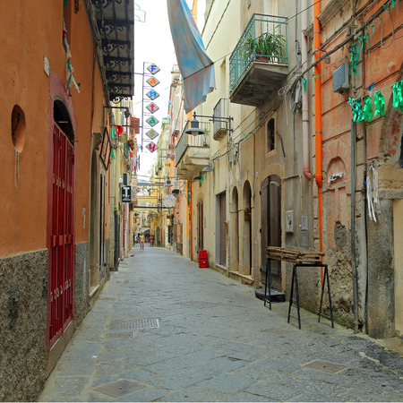 GAETA, ITALY - JUNE 25, 2016: View of the old city