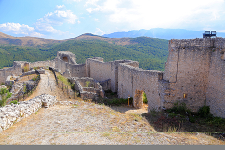 Medieval Castle of Bominaco in Caporciano (AQ) - Italy
