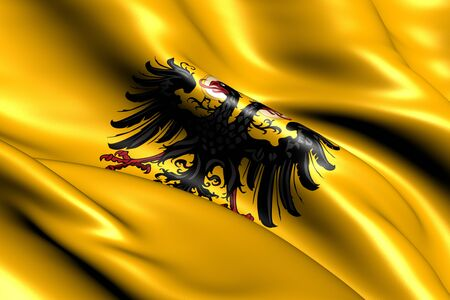 holy roman emperor: Holy Roman Empire Flag  1400-1806   Close Up